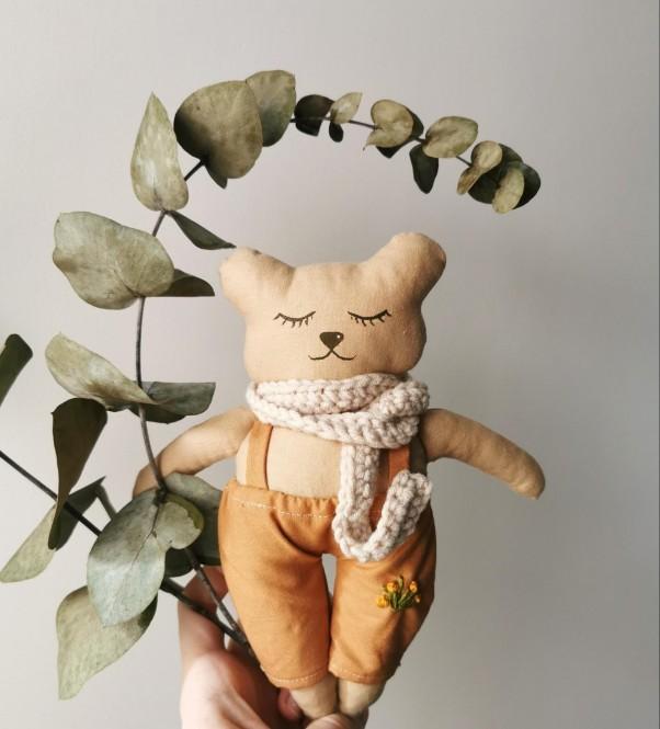 "Cotton Toy "" Teddy Bear """