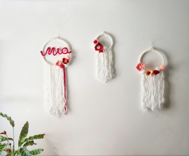 Baby room decore with baby's name