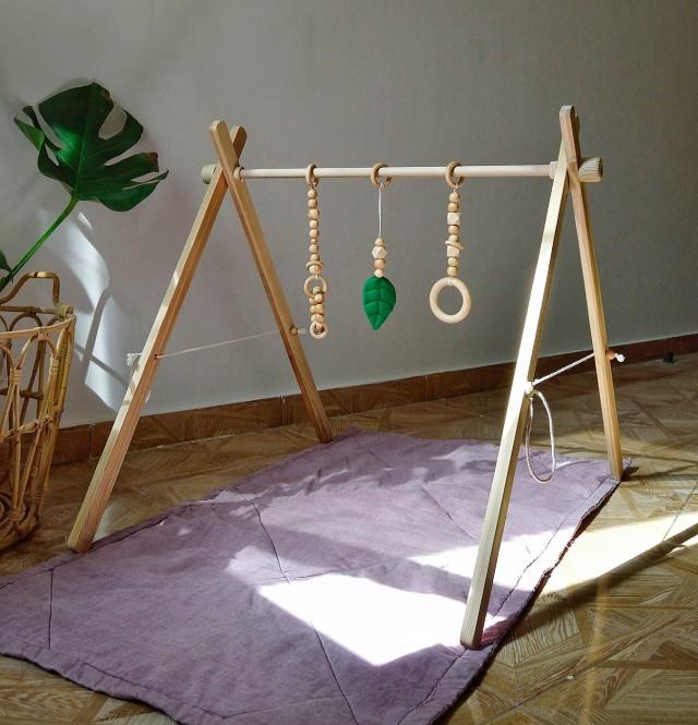 """Set For baby gym """"Leaf """""""
