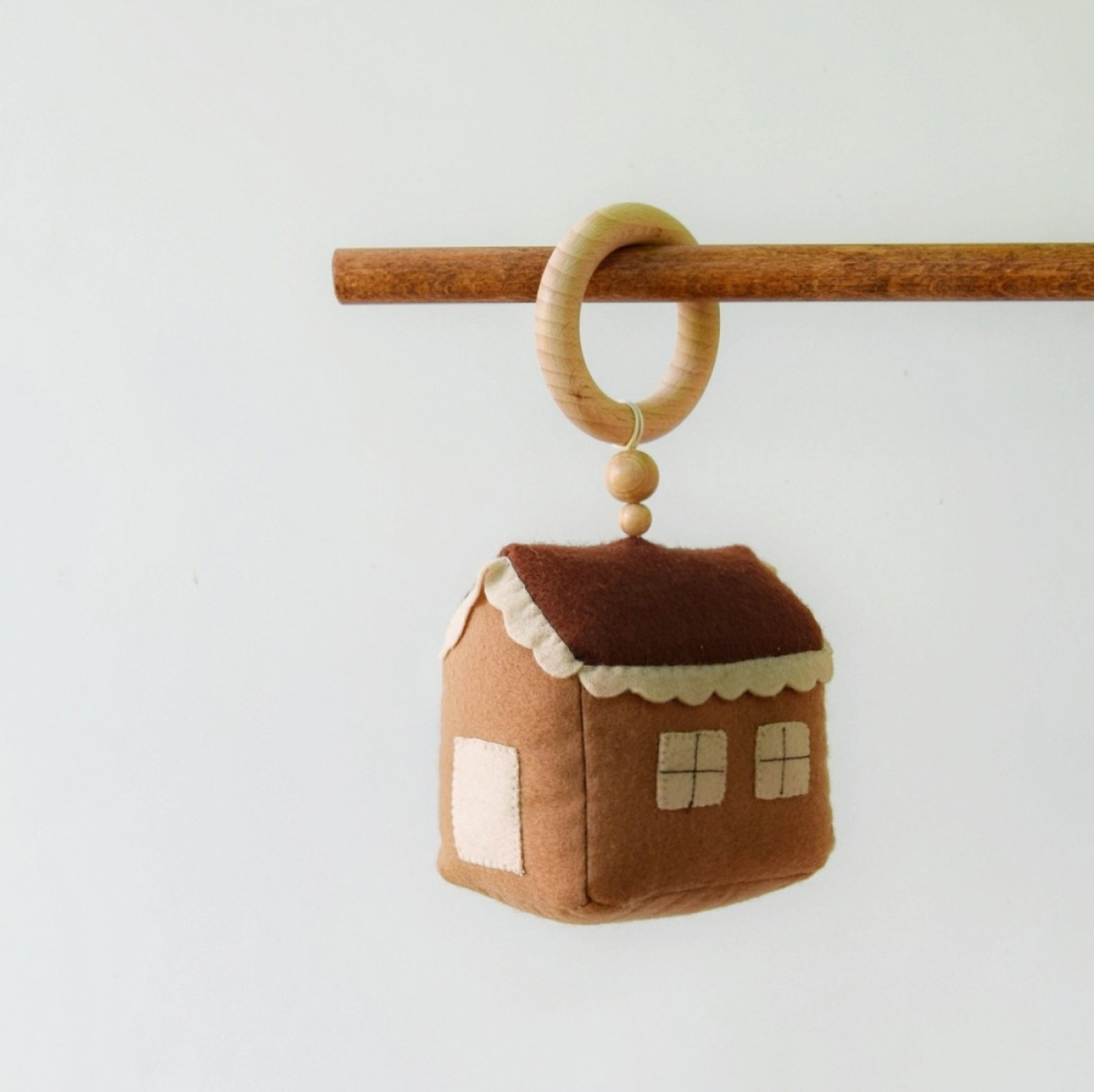 """Teether -rattle """"Warm House """""""